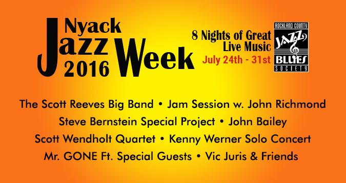 Nyack Jazz Week 2016