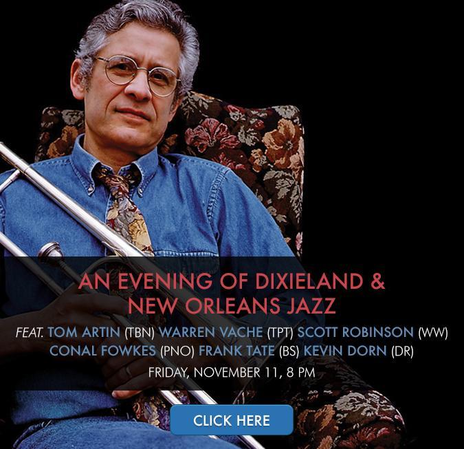 An Evening of Dixieland & New Orleans Jazz Featuring Tom Artin